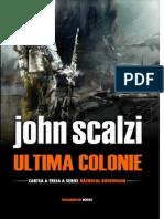 John Scalzi - RB 3 Ultima Colonie