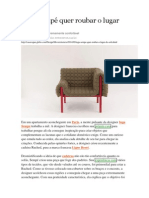 Cadeira Ruched Inga Sempé Quer Roubar o Lugar Do Sofá