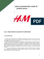 Comportamentul consumatorului de articole de imbracaminte marca H&M