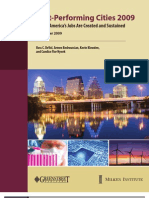 Milken Institute's 2009 Best-Performing Cities list