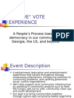The i Vote Experience