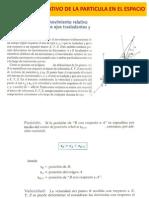 7. Movimiento Relativo de La Particula en 3d
