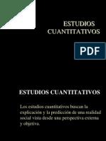 Estudios Cuantitativos 1.0