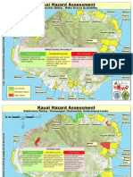 Hazard Assessment Maps - Kauai