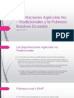 Exportaciones Agricolas Ecuador