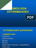 SEMIOLOGIA EXTREMIDADES