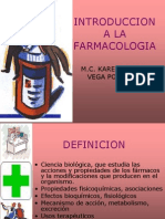 1 Introduccion a La Farmacologia