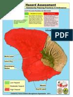 Hazard Assessment Maps - Lanai