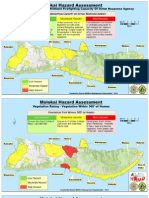 Hazard Assessment Maps - Molokai