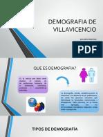 Demografia de Villavicencio- Segunda