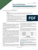 Ventilator Associated Pneumonoa