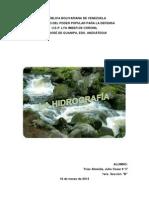 La Hidrografía