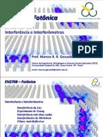 UFABC_EN2708_FOTONICA_Aula 07 - Interferência e Interferometros_230414