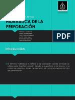 Exposición - Hidráulica de La Perforación