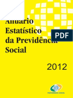 Acientes de Trabalho 2012