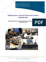 Thinking Anew—Security Priorities for the Next Administration