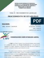 presentacion ESTABILIDAD