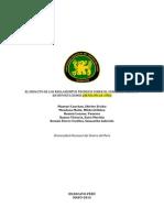 El Impacto de Los Reglamentos Tecnicos Sobre El Comercio Peruano en Importaciones