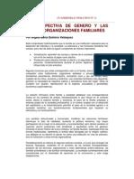 Genero y Nuevas Organizaciones Familiares Quintero