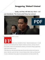 Meet China's Swaggering, 'Diehard' Criminal Lawyers