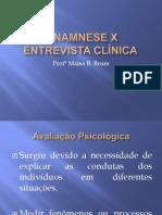 Entrevista Clínica X Anamnese