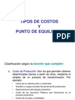 TIPOS DE COSTOS Y PUNTO DE EQUILIBRIO.ppt