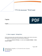Procedura TVA La Incasare WizCount5.0