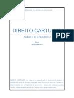 DIREITO CARTULAR
