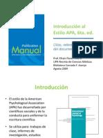 APA 6 Edición Extensa