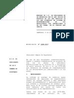 Nuevo Proyecto de Ley Modifica RPA Nov 2009