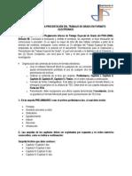 Normas Para La Presentación de Tesis en Formato Electrónico-Actualizado 2012