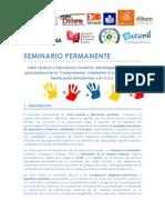 Formato.difusión Final. Seminario Permanente en FL.chile.2014