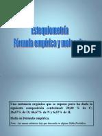 Formula Empirica y Molecular 01-1