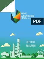 Reporte Final - Premio Sostenibilidad 2014