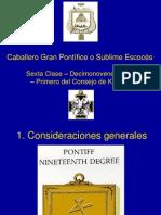 Grado 19 Gran Pontifice Full
