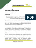 Revista ANDA 53 - Innovación en empaques por Adriana Wolff