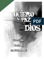 QuieroPazConDios Manuscrito Espanol