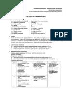 Silabo 2014-I Telematica