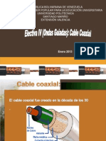 Electiva IV Cable Coaxial