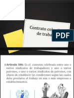 Contrato Colectivo_relacion Obrero Patronal