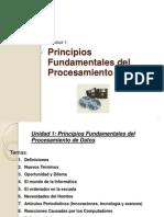 Unidad 1- Principios Fundamentales Del Procesamiento de Datos