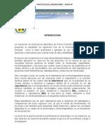 Trabajo de Informe Sobre Las Practicas de Fisica III 09 de Octubre de 2010 Deyci