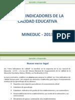 Otros indicadores Calidad Educativa.pptx