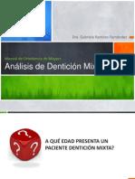 Analisis de Denticion Mixta Moyers