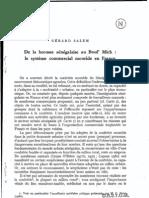 Le Systeme Commercial Mouride en France