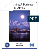 Establishing a Business in Alaska