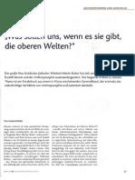 Wehr, Gerhard - Martin Buber und die Anthroposophie