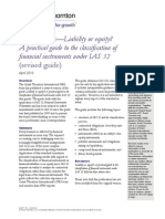 Liability or Equity Guide to IAS 32 (GT 2013)