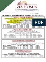 ziahomes inventory list nov12, 2009