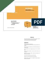 Manual de Mantenimiento de Los Grupos Electrógenos _ Versión 3 _ Junio 2006 _ KIPOR